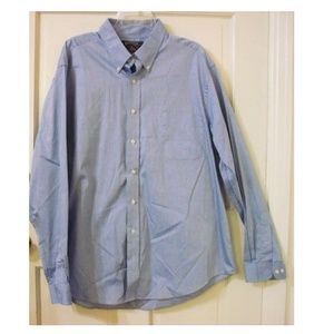 AMERICAN LIVING Size 18 Cotton Button Front Shirt